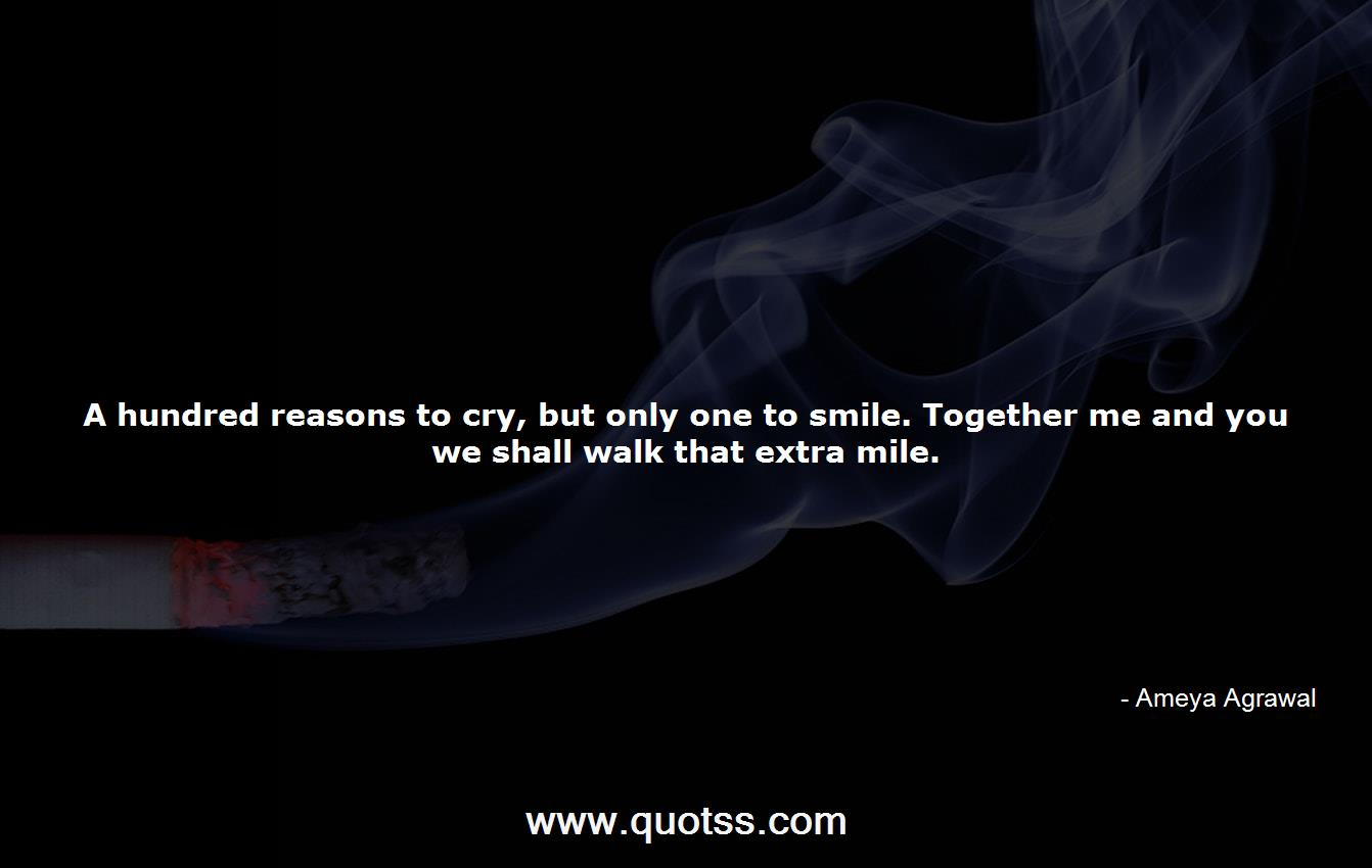 Ameya Agrawal Quote on Quotss