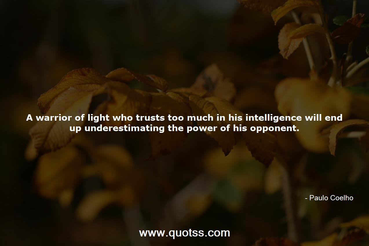 warrior of light paulo coelho quotes