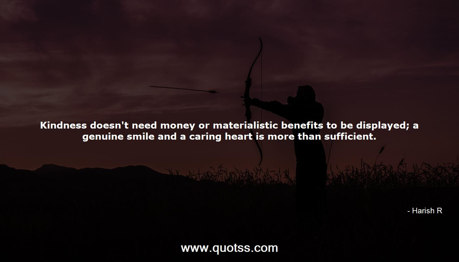 Kindness Doesnt Need Money Or Materialistic Benefits To Be
